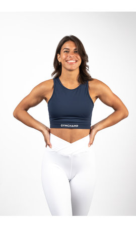 Gymchamp sportswear CLASSIC SPORTS BRA - NAVY BLUE