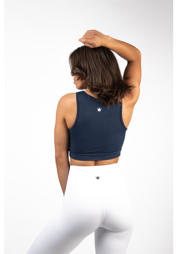 CLASSIC SPORTS BRA - NAVY BLUE
