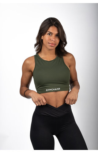 Gymchamp sportswear CLASSIC SPORTS BRA - ARMY GREEN