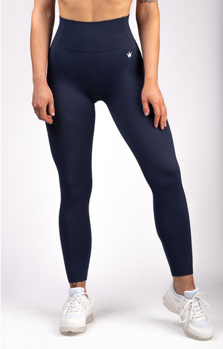 Gymchamp sportswear SEAMLESS LEGGING - NAVY BLUE