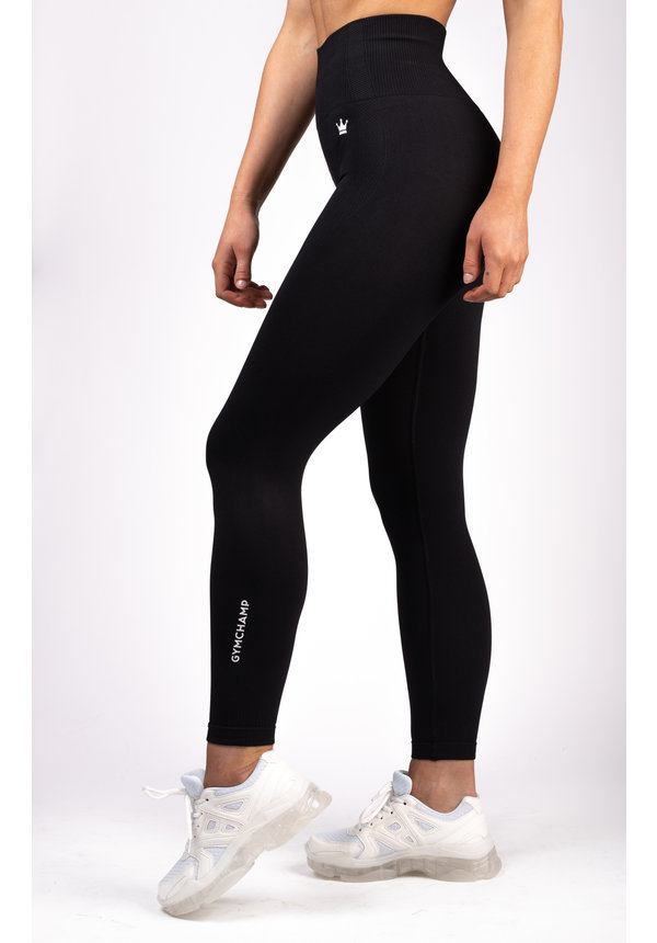 SEAMLESS LEGGING - BLACK