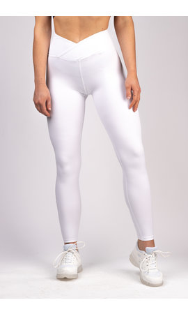 Gymchamp sportswear CLASSIC HIGH WAIST LEGGING - WHITE LIMITED EDITION