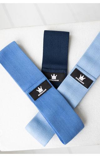 Gymchamp sportswear RESISTANCE BAND OCEAN BLUE - MEDIUM