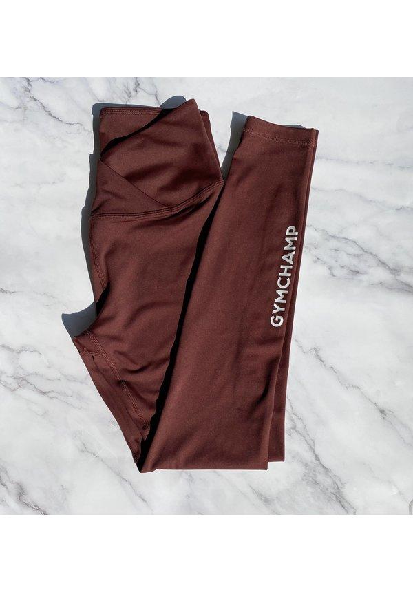 CLASSIC HIGH WAIST LEGGING - WINE RED