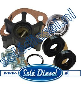 Complete Service Kit Waterpomp  32111000