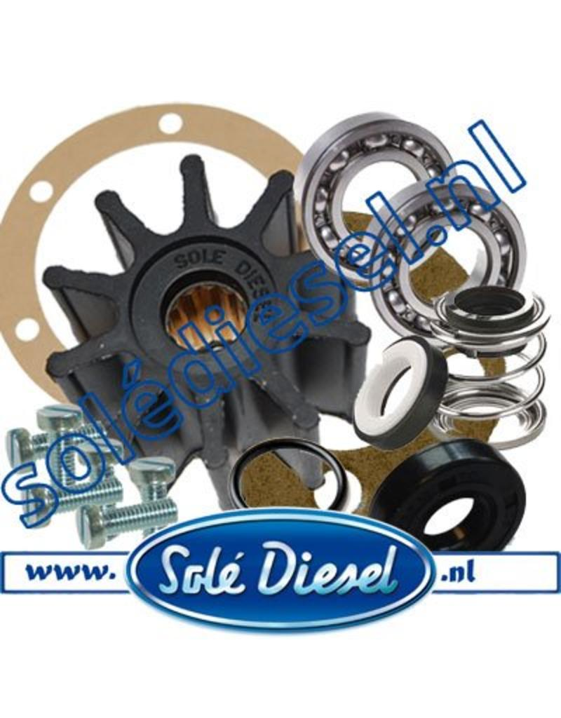 Complete Service Kit Impellerpomp 36511000 & 37811000
