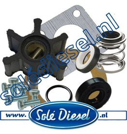 Extra Service Kit Waterpomp 37011200