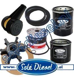 Extensive maintenance service kit mini 44 for 50A alternator