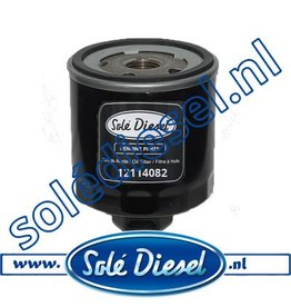 12114082| Solédiesel | parts number | Oil filter