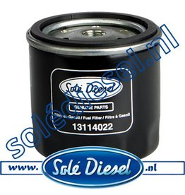 13114022 | Solédiesel | parts number | Fuel filter