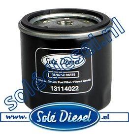 13114022 | Solédiesel | parts number | Fuel filter