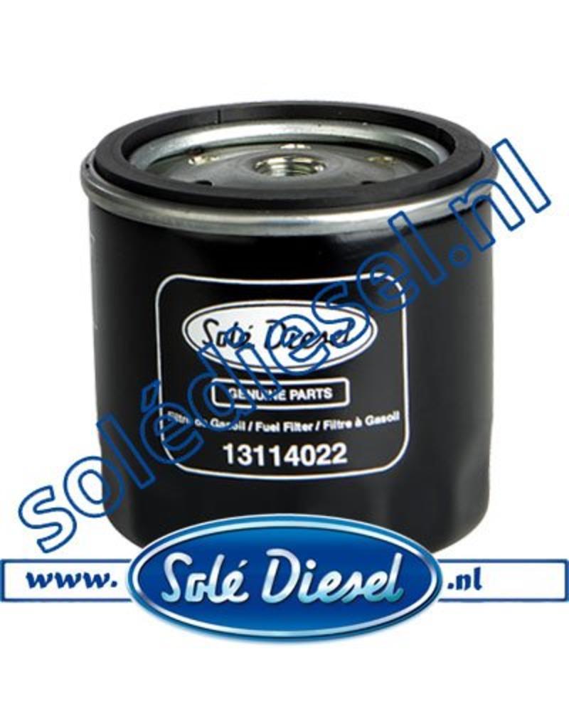 13114022 | Solédiesel onderdeel | Brandstof filter