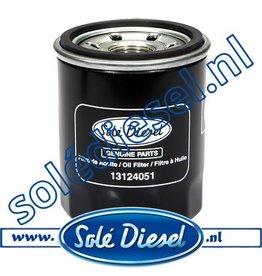 13124051| Solédiesel | parts number | Oil filter