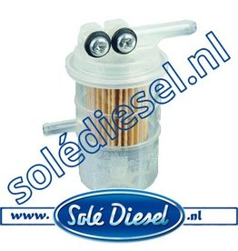 13124020 | Solédiesel | parts number | Fuel filter