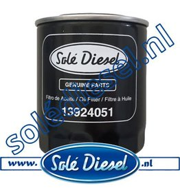 13924051| Solédiesel | parts number | Oil filter