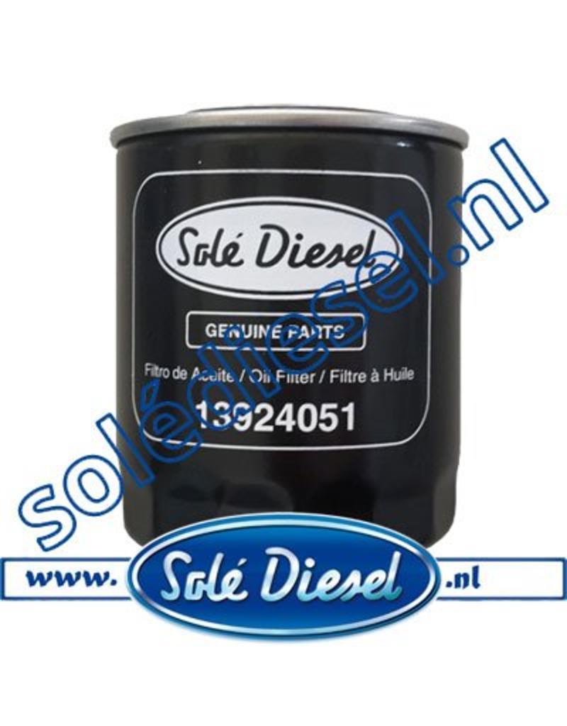 13924051 | Solédiesel |Teilenummer | Oil filter
