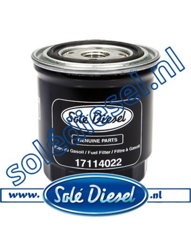 17114022 | Solédiesel |Teilenummer | Fuel filter