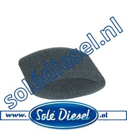 17410031 | Solédiesel onderdeel | Luchtfilter element