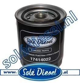 17414022 | Solédiesel | parts number | Fuel filter