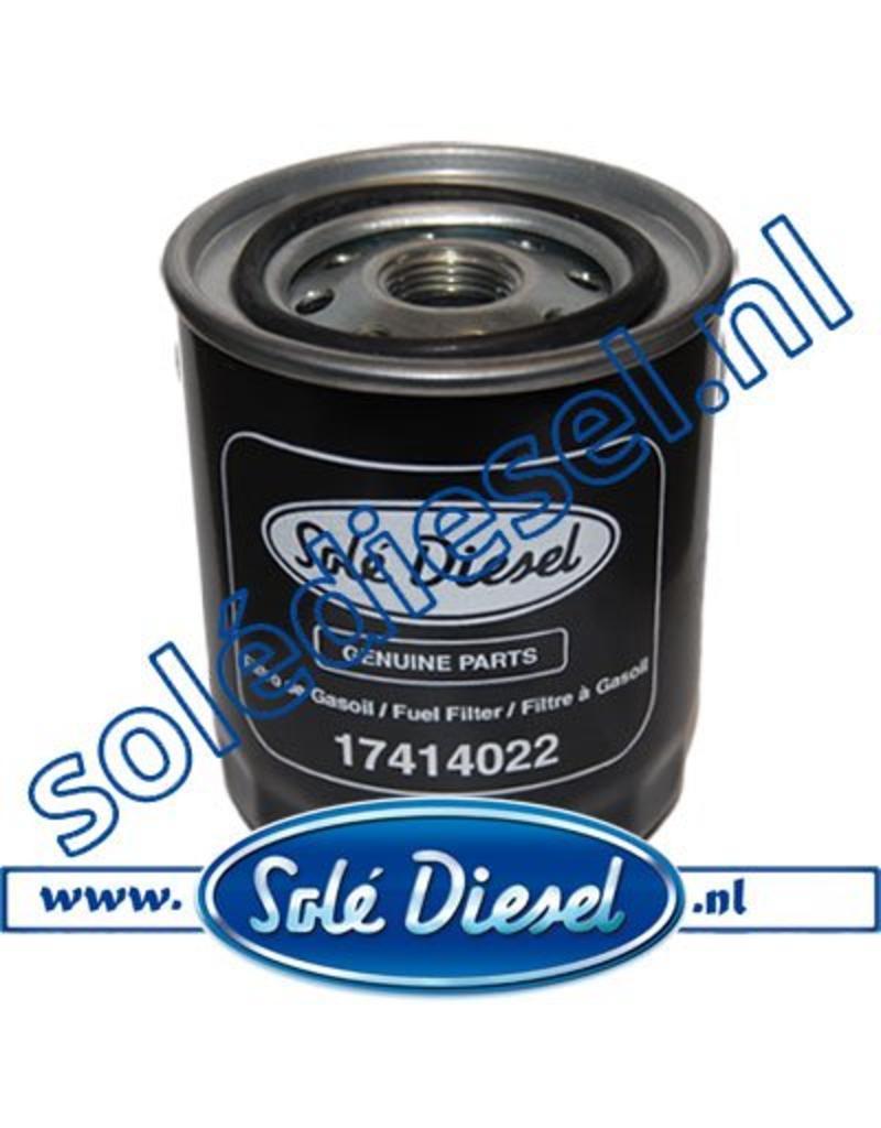 17414022 | Solédiesel |Teilenummer | Fuel filter