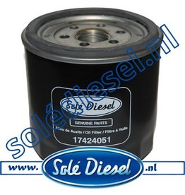 17424051| Solédiesel | parts number | Oil filter