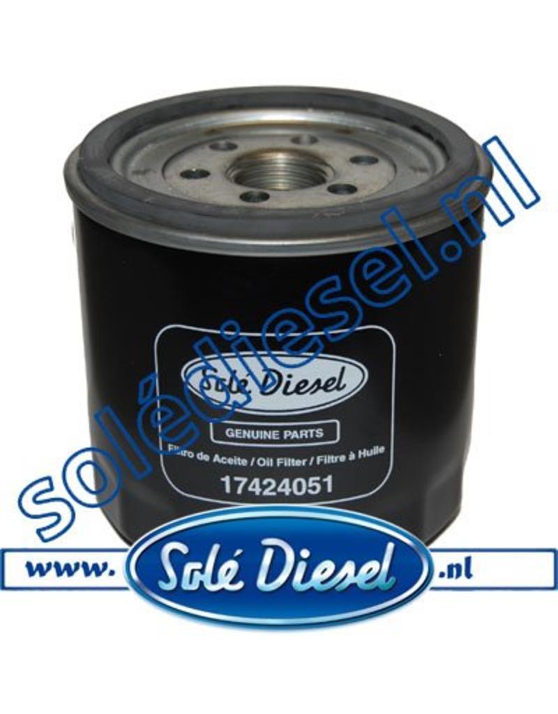 17424051 | Solédiesel |Teilenummer | Oil filter