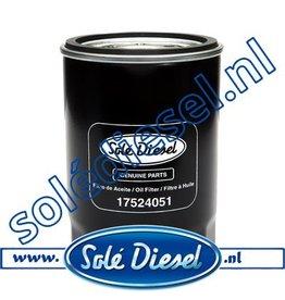 17524051| Solédiesel |Teilenummer | Oil filter