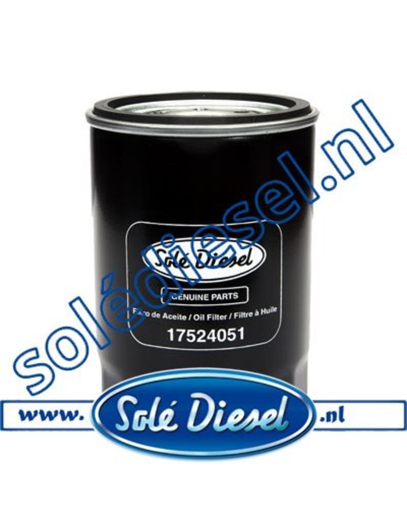 17524051 | Solédiesel |Teilenummer | Oil filter
