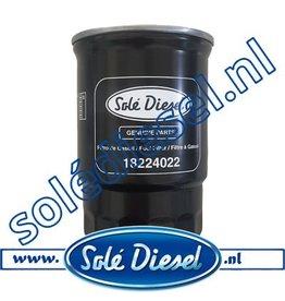 18224022| Solédiesel |Teilenummer | Fuel filter