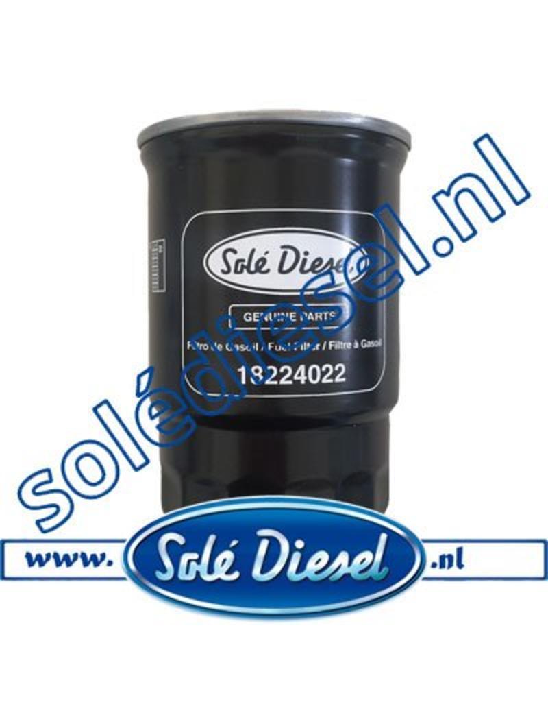 18224022   Solédiesel onderdeel   Brandstof filter