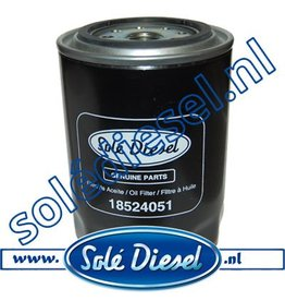 18224051| Solédiesel | parts number | Oil filter