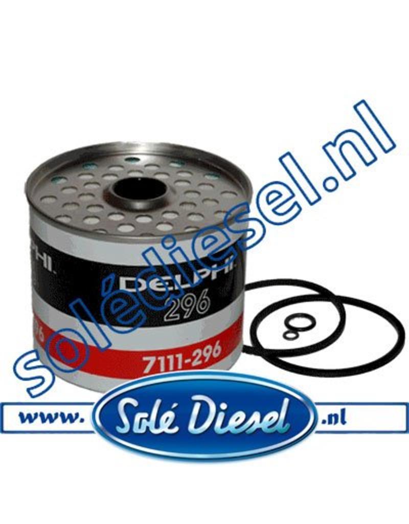 HDF296 | Delphi 7111-296 | Fuel filter