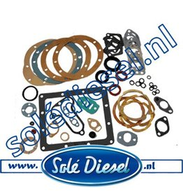 12110100 | Solédiesel | parts number | Gasket kit solé mini 1