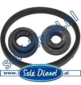 11114092-4-6 | Solédiesel onderdeel | Gasket Fuel Filter set