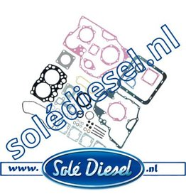 13020101  Gasket kit solé mini 11
