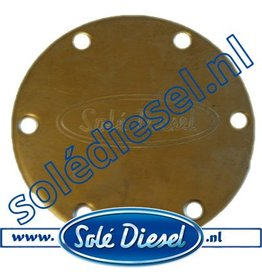 31211002 End Cover for Solé  Raw water pump