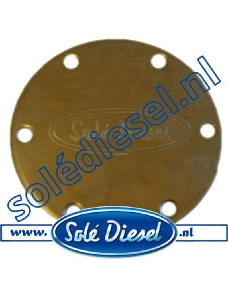 32111002 End Cover for Solé  Raw water pump