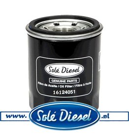 16124051| Solédiesel | parts number | Oil filter