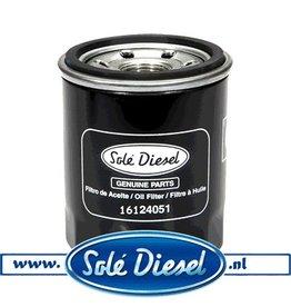 16124051| Solédiesel |Teilenummer | Oil filter