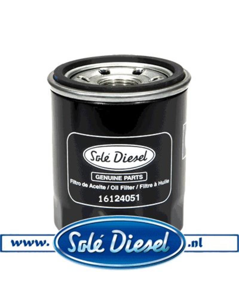 16124051  Solédiesel onderdeel   oliefilter