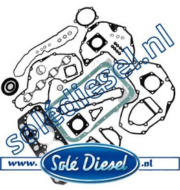 17320101 Gasket kit solé mini 44 & 55