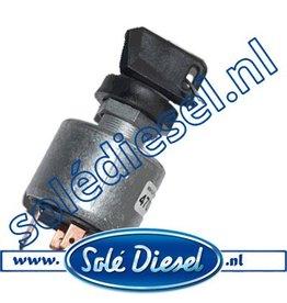 60900031  | Solédiesel |Teilenummer | Zündschloss (altes Modell)