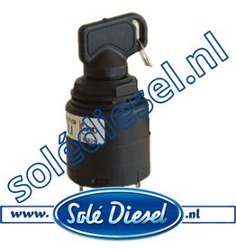 60900037 | Solédiesel | parts number | Ignition lock (New model)