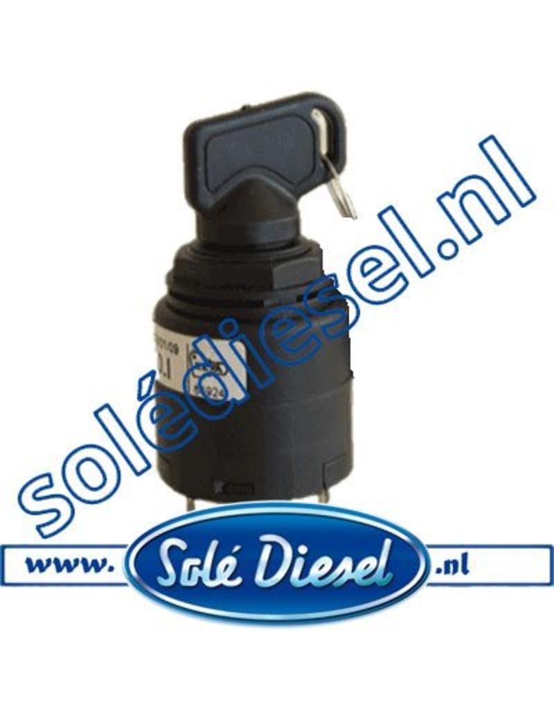 60900037    | Solédiesel onderdeel | Contactslot (Nieuw Model)