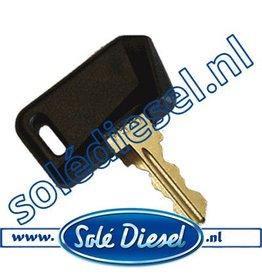 60900033 | Solédiesel onderdeel | Sleutel (oud Model)