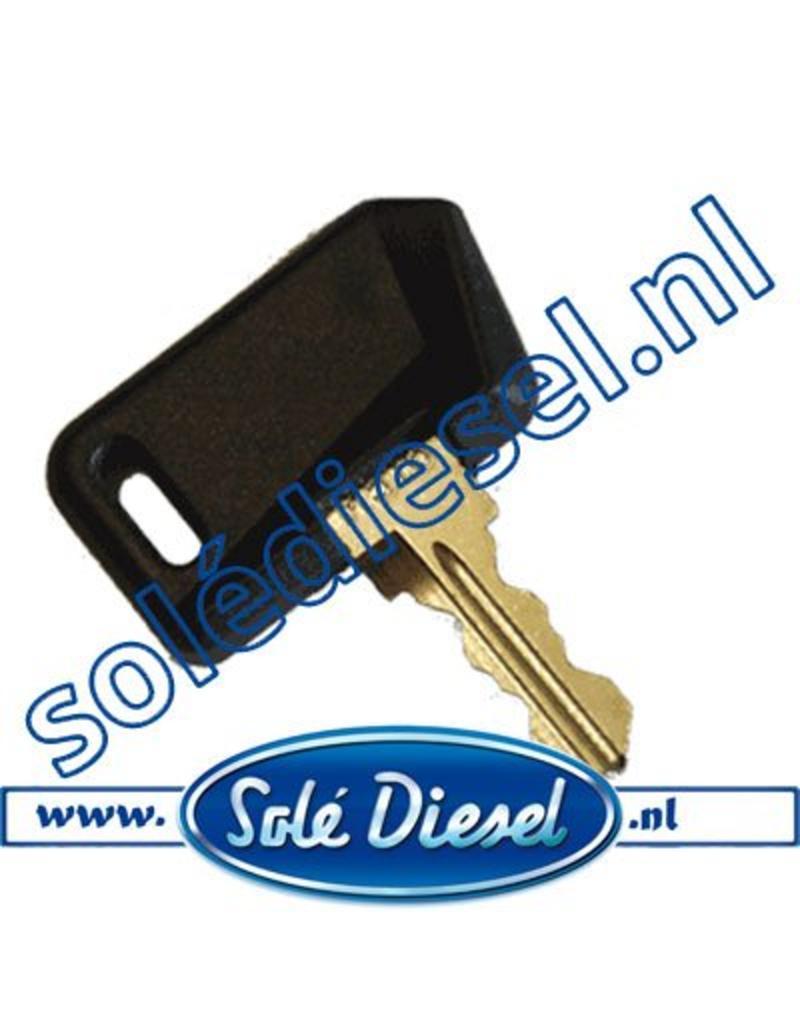 60900033     Solédiesel onderdeel   Sleutel (oud Model)