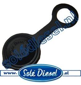 60900035| Solédiesel onderdeel | contactslot deksel (oud Model)