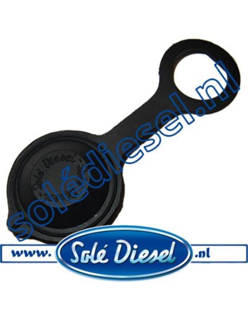 60900035     Solédiesel onderdeel   contactslot deksel (oud Model)