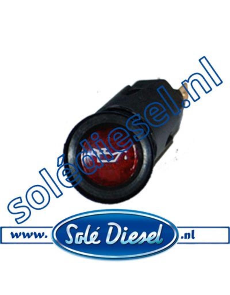 60900050 | Solédiesel onderdeel | Lamp oliedruk
