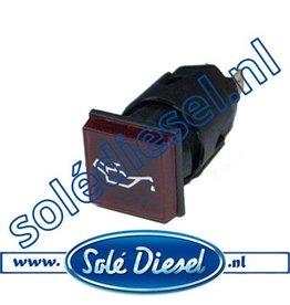 60900050A | Solédiesel onderdeel | Lamp oliedruk